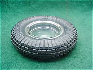 Seiberling Adver. Tire Ashtray (Image1)