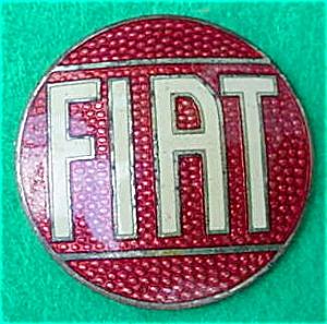 Fiat Porcelain Enameled Emblem (Image1)