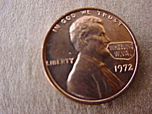 (50) 1972 Wheeling, WV Souvenir Pennies (Image1)