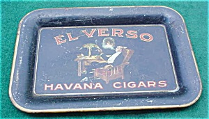 El Verso Havana Cigars Adver. Tip Tray (Image1)