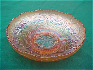 Fenton Carnival Dragon & Lotus Bowl (Image1)