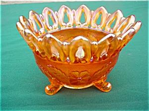 Millersburg Wild Rose Ftd. Carnival Bowl (Image1)