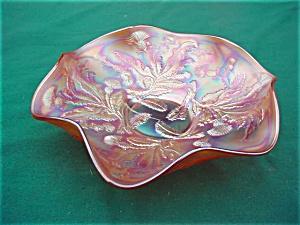 Fenton Carnival Thistle Bowl (Image1)