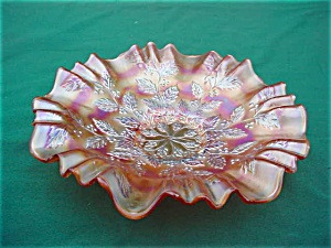 Fenton Carnival Holly Bowl (Image1)