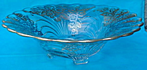 Lg. Cambridge Caprice Silver Overlay Bowl (Image1)