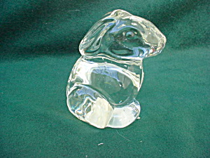 Cystal Glass Animal Rabbitt (Image1)