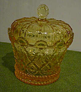Fostoria Crown Candy Dish & Cover (Image1)