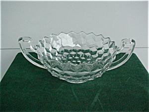 "American Fostoria 8 1/2"" Handled Bowl (Image1)"