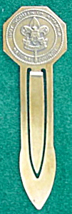 Early, Boy Scouts Book Mark (Image1)