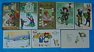 Early New Years Postcard Collection (Image1)