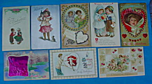 Early Valentine Postcard Collection (Image1)