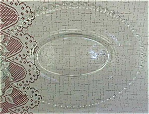 Lg. 16 in.  Candlewick Oval Platter (Image1)
