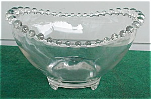 "Imperial Candlewick 8 1/2"" 3-Toe Bowl (Image1)"