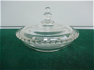 """Imperial Candlewick 7"""" Candy Box & Cover (Image1)"""
