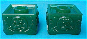 Imperial Jade Cathay Dragon Candleholders (Image1)