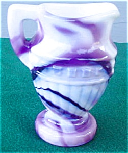 Imperial Purple Slag Miniature Pitcher (Image1)
