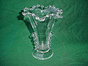 "Imperial Candlewick 6"" Crimped Vase"