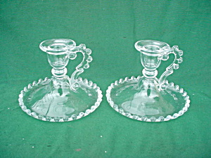Pr Imperial Candlewick Candleholders(400/90)