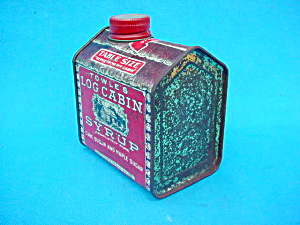 Early, Home Sweet Home Log Cabin Syrup Tin (Image1)