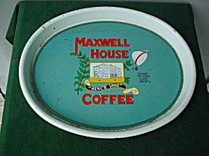 Maxwell House Coffee Adver. Tray (Image1)