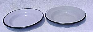 Pr. of Gray Graniteware Pans (Image1)
