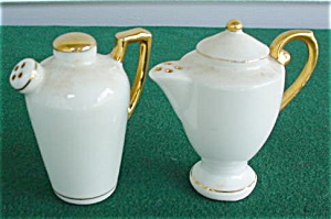Occupied Japan Handled Teapot S/P Set (Image1)