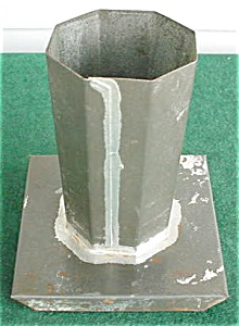 Old Individaul Candle Mold (Image1)