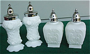 Pr. of Milk Glass S&P Shakers (Image1)