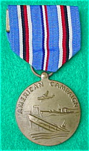 1941-45 American Campaign Medal w/Ribbon (Image1)