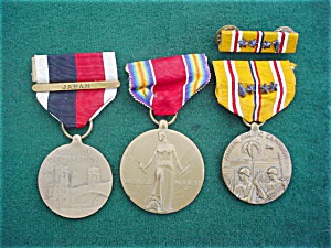 WWII Medal Collection (Image1)