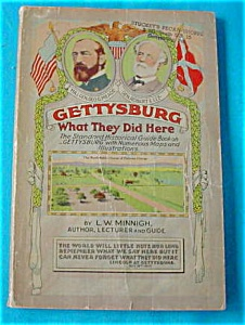 1954 Book:  Gettysburg--What They Did Here (Image1)