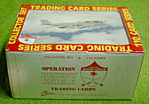 Operation Desert Shield Trade Card Set (Image1)