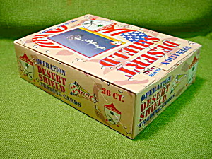 Operation Desert Sheild Wax Box (Image1)