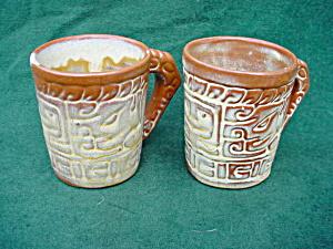 Pr. Frankoma Handled Mugs (Image1)