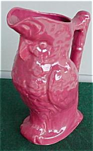 Lg. Parrot Pottery Pitcher (Image1)