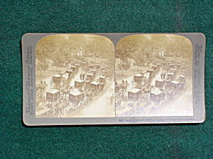 Early Stereoview:  Pres. McKinley's Funeral (Image1)
