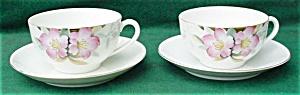 Pr. of Noritake Azalea Cups & Saucers (Image1)