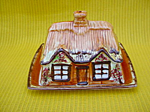 England Cottageware Butter & Cover (Image1)