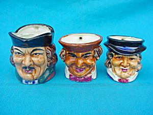 Set of 3 Handled Toby Mugs (Image1)