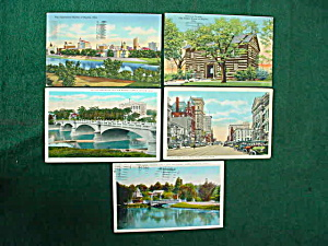 Dayton, Oh Postcard Collection