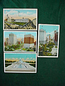 Detroit, Mi Postcard Collection (Image1)