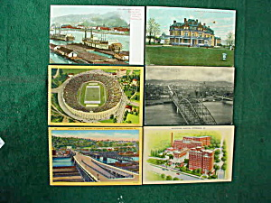 Pittsburgh, Pa Postcard Collection