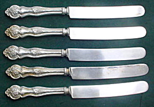 (5) Lakeside Grape/Vineyard Dinner Knives (Image1)