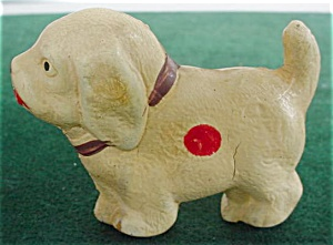 Old Hard Plastic Dog--Japan (Image1)