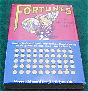 Early Fortunes Tip Board (Image1)