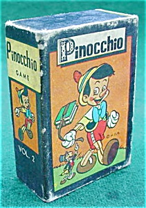 1950's Pinocchio Card Game (Image1)