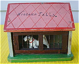 Niagara Falls Souvenir--Dog in Doghouse (Image1)
