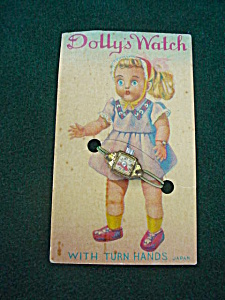 Old Dolly's Watch on Card (Image1)