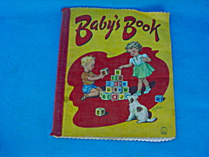 Early Cloth Book--Baby's Book (Image1)