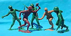 Group of Lg. Marx Figures (Image1)